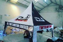 Tenda Sahara / Jasa Pembuatan Tenda Promosi
