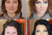 Different make up looks