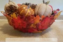 Fall Crafts and Decor