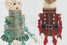 3-D beadwork