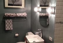 Bathroom Ideas / Some new colours to try for the main bathroom