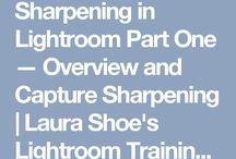 SHARPENING IN LIGHTROOM PART ONE