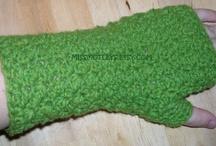 Crochet gloves/wristwarmers