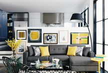 grey yellow inspiration