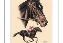 Race Horse Decor