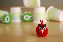 Party-Theme Angry Bird  / by LaHoma Bradley Seymour