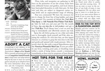 The Paw Print / Monthly Newsletter Published by Humboldt Pet Supply with local news, and information for pet owners. / by Humboldt Pet Supply