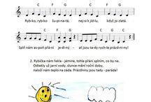letní písničky