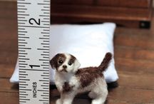 1:12 Scale Animals (mixed) / Handmade 1:12 scale dollhouse animals