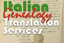 "Genealogical  Italian Translation Services / My name is Laura, I'm a freelance translator. I have a Master's degree (Master of Arts in Applied Linguistics) from the University of Naples ""L'Orientale"" (Università degli studi di Napoli L'Orientale.) I am also an Italian and English teacher from Naples Italy. I am now offering Professional translation  for people with genealogical  Italian documents, letters and  or manuscripts. http://westchesteritalian.com/translation-services/"
