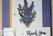 Stampin up lavendel