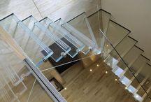 Scale e vetro / Raccolta delle più belle scalinate in vetro che troviamo sul web