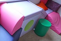 Foam: Children's Soft Play Areas / Foam cut to unique shapes and to any size for children's soft play areas.