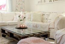 DIY: Jardines con Palet / Muebles echas con pale