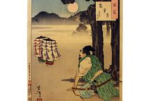 samurai wood block print Ukiyo-e / A great selection of the best wood bock print artist of Japanese history