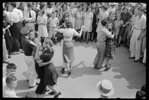 Dance  / There's something about the elegance and glide of dancing from the 30's to the late 50's that I love and I wish I could dance them more often! Dancing feeds the soul