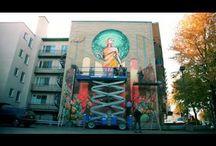 Mural adibideak / Pintura kalean