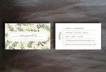 Branding / Botanical branding / by Kristine Roy