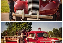 old firetrucks / by Lamar Cambron