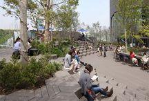 plazas, squares, praças