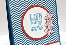 Craft Inspo - Wimpeleien/Perfect Pennants / Crafts with Stamps of Stampin' Up!