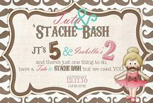 Tutu and 'stache bash / by Valerie Young
