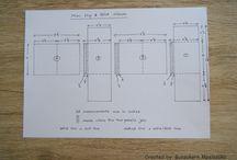 Flip & fold mini album - measurements