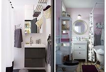 Kupaonica / Svakome ponekad treba malo vremena za sebe. Zato mi izrađujemo kupaonski namještaj koji će ti dati prostor za sve stvari koje trebaju – ali i pametne načine na koje ćeš ih organizirati. Tako ćeš provesti manje vremena u potrazi za zubnom pastom, a više vremena radeći ono što je stvarno bitno – brineći se za sebe. / by IKEA Hrvatska