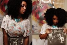 chocolate skin curlz / by Brianna Josephs