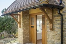 Hill Cottage / Complete re-modelling, extension and renovation of this rural Oxfordshire cottage. Works included extensive made-to-measure external and internal doors and windows by BARRJOINERY and cabinetry by BARRKITCHENS.