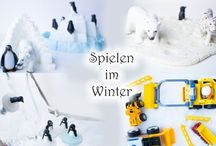 Spielen im Winter