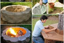 DIY Outdoor Projects / Cool ways to spice up your backyard.