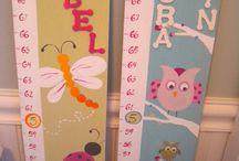 Tall Meter Kid Room Decor