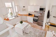 Petit appartement / Decoração de pequenos espaços