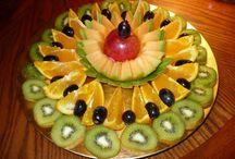 Frutas na mesa