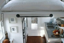 tiny house / living in a tiny house is living a free life! for a nice price / by Claire van Rijk