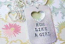 Run like a girl / Fitness/ running gear
