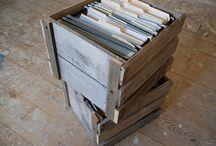 repurposing pallets / by Jo Kramer