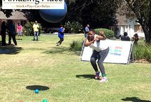 FNB Team Building Event / FNB had a fun filled day of team building at The Amazing Place in Sandton http://www.theamazingplace.co.za/fnb-team-building-event/