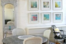 Small space living. / Design ideas for smaller homes, condos and apartments.
