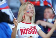 Russia Fans Girls