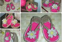 HANDMADE SHOES AND HATS / CROCHET SHOES