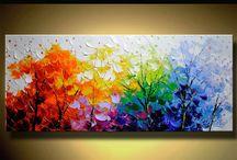 pintura relieve