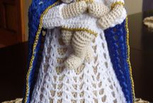 Crochet Virgin Mary