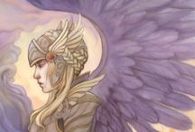 Valkyries / archetypes, women's empowerment, strength, freedom, myth, legend, strong woman, rescue