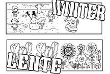 thema Weer/seizoenen / lesideeën over het weer en de seizoenen