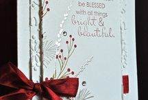 2014 Stampin up christmas cards