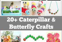Caterpillar/Butterfly Preschool Theme