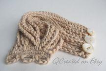 Crochet bracelets / bangles