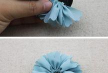 fleur tissu